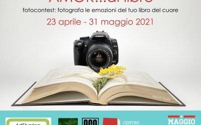 Maggio dei libri 2021 – Concorso fotografico Amor di libro