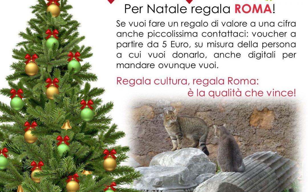 Per Natale regala ROMA! e sostieni ArtSharing