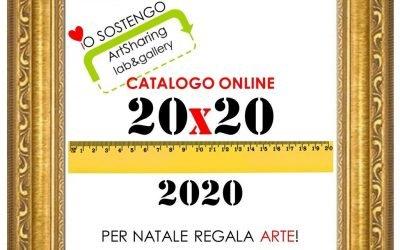 20×20 Per Natale regala ARTE! catalogo online