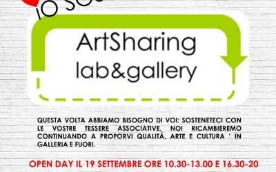 Io sostengo ArtSharing Roma – campagna a supporto del progetto