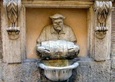 Giovedì 25 Giugno ore 21.00 Le fontane di Roma da Piazza Navona a via Margutta