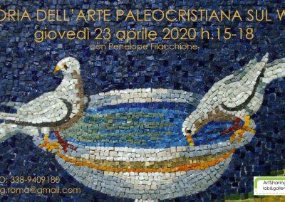 23 aprile 2020 La lingua delle immagini: arte paleocristiana sul web