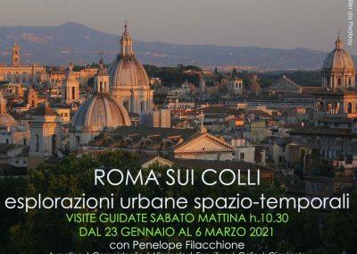 ROMA SUI COLLI: esplorazioni urbane spazio-temporali