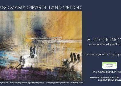 Stefano Maria Girardi Land of Nod. A cura di Penelope Filacchione. Vernissage 8 giugno ore 18.00