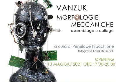 Vanzuk – Morfologie meccaniche. Mostra dal 13 maggio 2021
