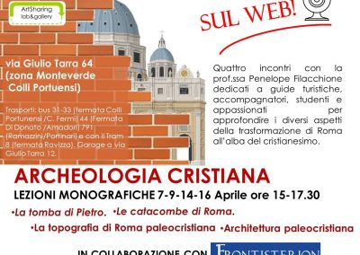 Roma capitale cristiana sul web, in collaborazione con Frontisterion.