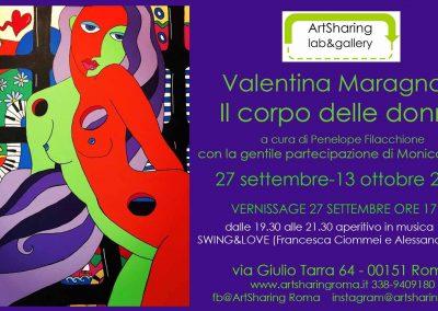 Valentina Maragnani – Il corpo delle donne 27 settembre – 13 ottobre 2019