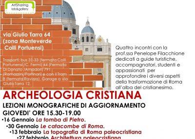 Iscrizioni corso aggiornamento Archeologia Cristiana