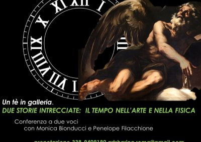 2 Febbraio 2020 h.17.00 Un tè in galleria: il Tempo nell'arte e nella fisica