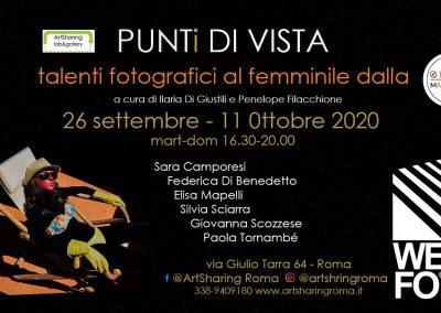 "Mostra: ""Punti di vista – Talenti fotografici al femminile dal MArteLive"