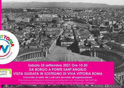 Da Borgo a Ponte Sant'Angelo: visita guidata per VivaVittoria Roma