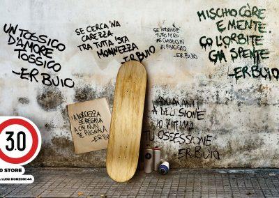 Er Buio – Poesia sulla strada. Evento di Street Poetry per Rome Art Week 2021