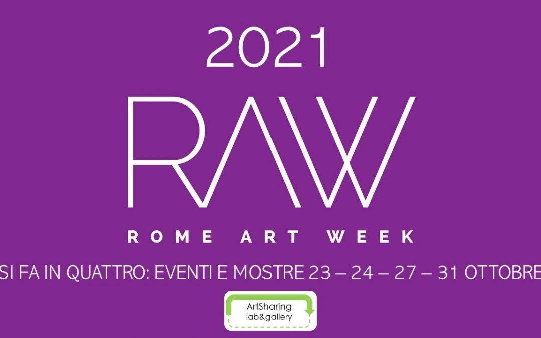 RAW 2021 si fa in quattro con ArtSharing